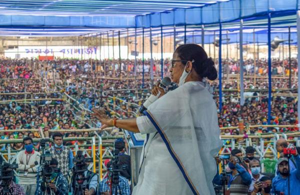 Country staring at food crisis, famine because of BJP: Mamata