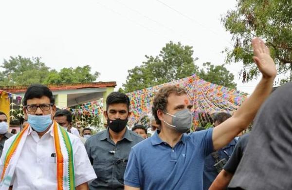 Farm laws: Govt conspiring to destroy farmers, saysRahul Gandhi in Tamil Nadu