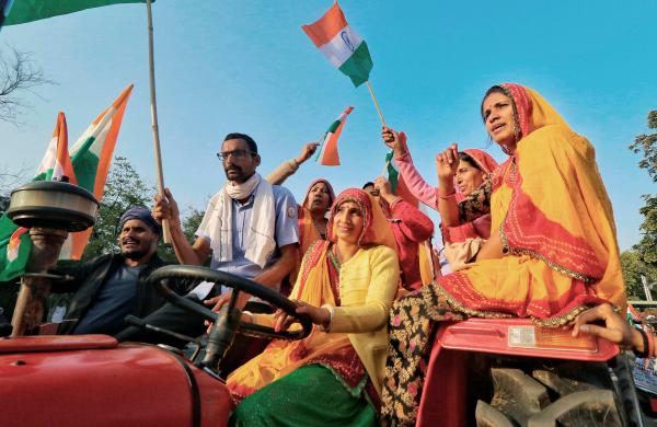 Farmers' rally: Hundreds of women to drive tractors, make their presence count