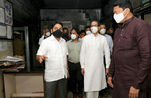 'I'm speechless': Maharashtra CM visits Bhandara fire mishap site, assureshelp to kin of dead babies