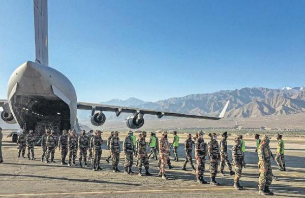 Indian Army tohold ground at LAC till needed, says General Naravane