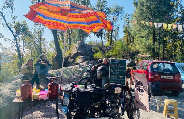 'Kebakh' from Uzbekistan to Dehradun: Man opens mobile BBQ on bike,gets praise from Raveena Tandon