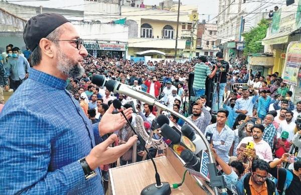 Owaisi's AIMIM may jump into UP panchayat poll fray