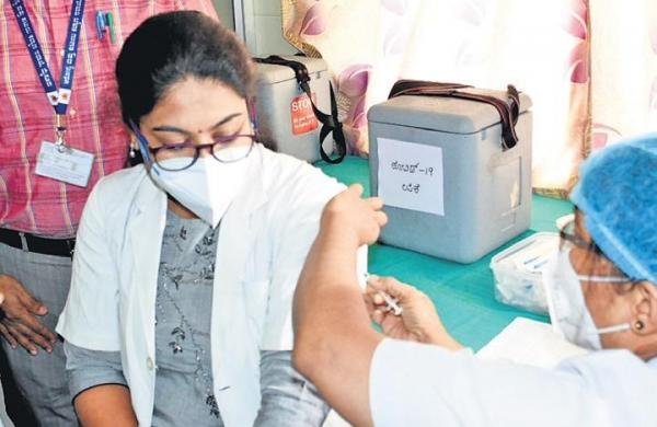 Second dry run for COVID-19 vaccine held amid tight security in UP's Gautam Buddh Nagar