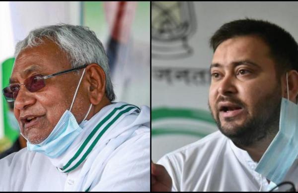 Tejashwi slamsBihar's law and order situation under CM Nitish Kumar, says goons 'running the govt'