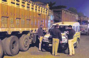 Truck-load of govt ration seized from SP leader's warehouse in Uttar Pradesh