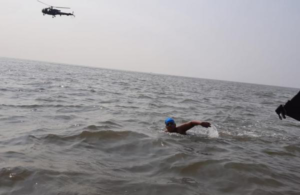12-year-old Autistic girlswims 36 km in Arabian Sea to create awareness about disorder