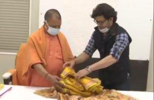 Ayodhya's Ram Lalla dons designer Khadi silk attire on Vasant Panchami