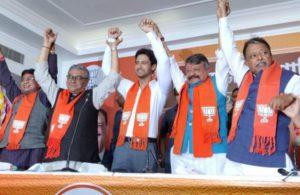Bengal polls: Actor Yash Dasgupta, sixothers fromTollywoodjoin BJP