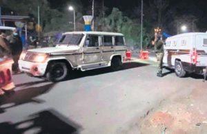 Dhaba owner's kin shot at on day of envoys' visit