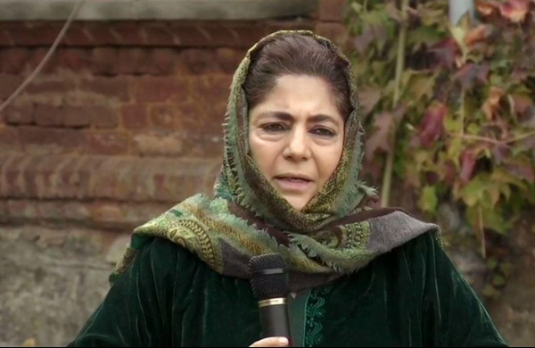Dialogue must for lasting peace in Jammu and Kashmir: PDP chief Mehbooba Mufti