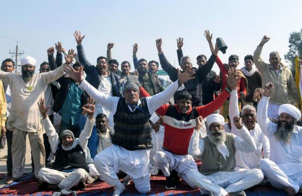 Farmers' 'chakka' jam' protest affects Punjab, Haryana; scattered demonstrations in other states