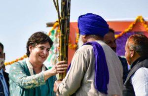Govt insulted farmers, ministers called them traitors: Priyanka Gandhi atkisan panchayat