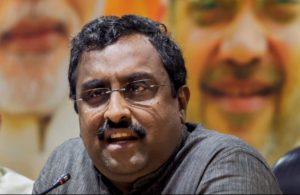 Govt working on law to regulate social media: Ram Madhav
