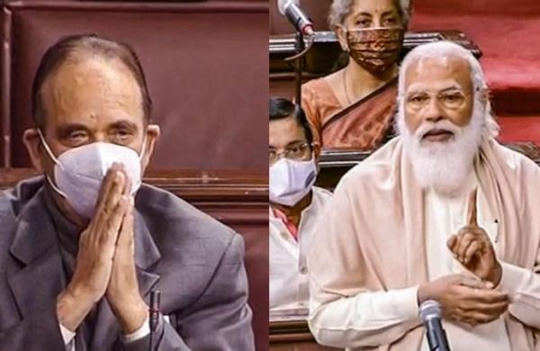'It's hard to fill his shoes': PM Modi bids tearful adieu to outgoing Rajya Sabha MP Ghulam Nabi Azad
