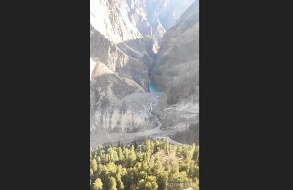 Lake formation at Rishi Ganga river poses bigger threat than Sunday flood
