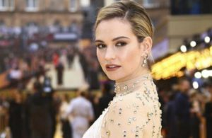 Lily James plans to move to Los Angeles to avoid kissing controversy