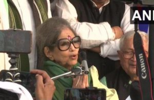 Mahatma Gandhi's granddaughter extends support to agitating farmers, says visit to Ghazipur 'apolitical'