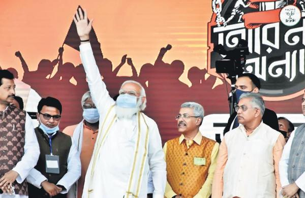 Mamata has neglected state's culture, its icons and women: Modi