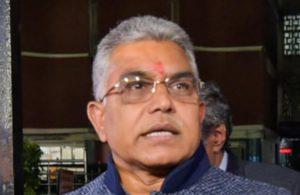 Mend your ways or face retribution: BJP leaderDilip Ghosh tellsTMC workers