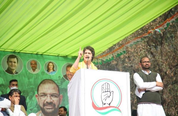 'Modi riding high on ego': Priyanka Gandhi compares PM with atrocious legendary kings