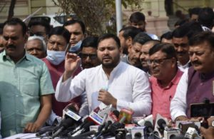 Nitish Kumar, Tejashwi Yadav lock horns in Bihar Assembly over law and order situation in state