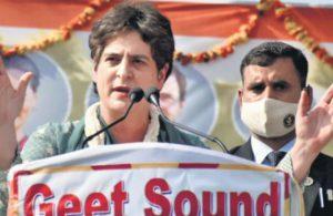 Priyanka's farmer visits to Uttar Pradesh worry BJP