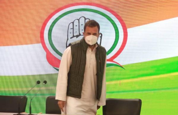 Rahul, Rihanna and racket: BJP says Congress MPconspires with foreigners