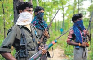 Six Naxals, including two couples, surrender in Chhattisgarh