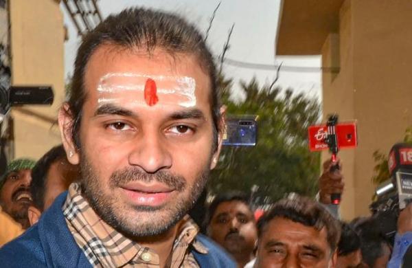 Tej Pratap Yadav furious with RJD's veteran state president Jagadanand Singh
