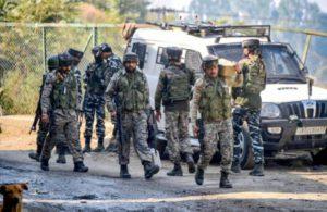 Three militants, policeman killed in encounters in J-K
