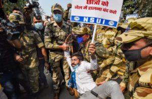 Toolkit row: NSUI protests against environment activist Disha Ravi's arrest