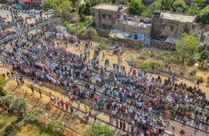 Train cancelled, some delayed as farmers squat on tracks in Rajasthan