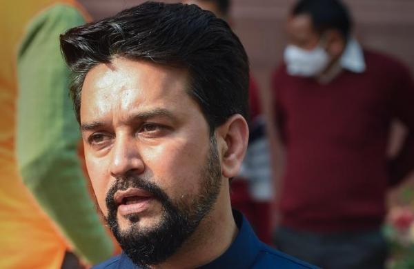 Union Minister Anurag Thakur's remark kicks row in Rajya Sabha