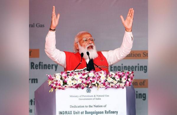 West Bengal has made up its mind for 'poriborton', says PM Modi