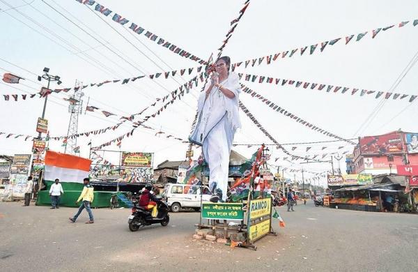 Bengal elections 2021: Activists of BJP, TMC clash in Nandigram, three injured
