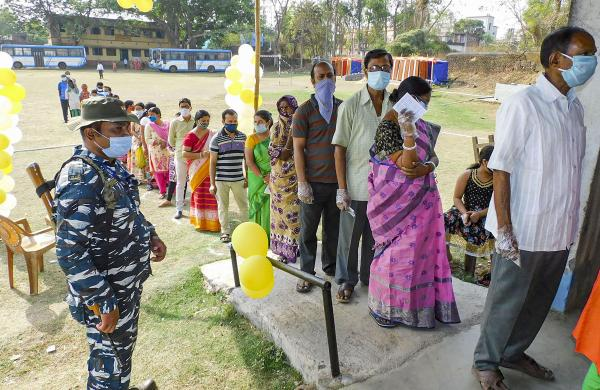 Bengal recorded 84.13% polling in first phase of assembly elections