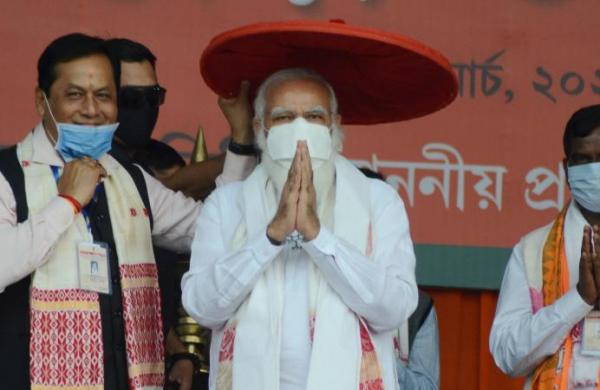 Congress openly backed global conspirators who were out to discredit 'Assam tea': PM Modi