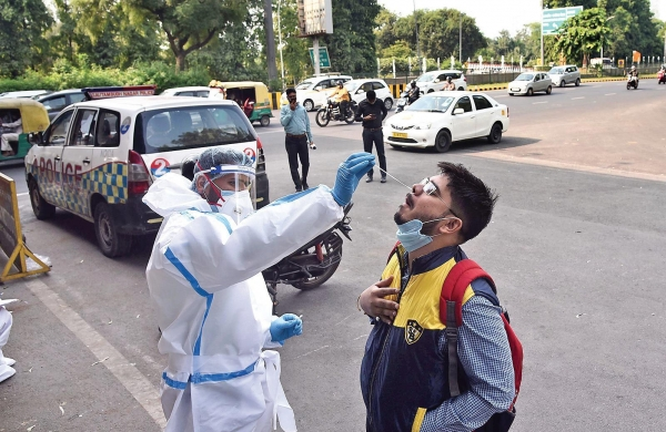 Covid-19: India reports highest single-day spikethis yearwith 53,476 new infections