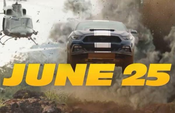 'Fast & Furious 9' release date pushed to June 25