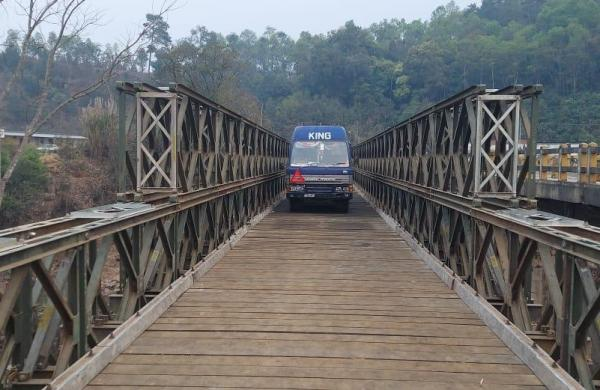 In five days Border Roads Organisation launches bridge connecting Shillong and Silchar