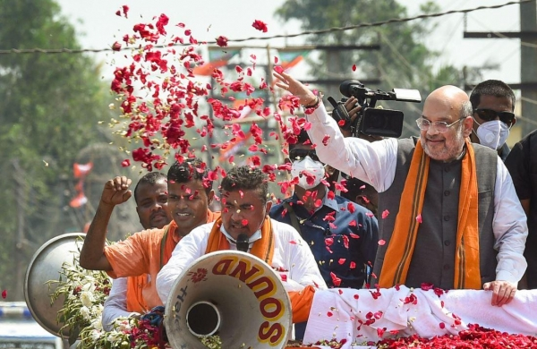 'Mamata has to be defeated to bring about much-desired change in Bengal': Amit Shah in Nandigram
