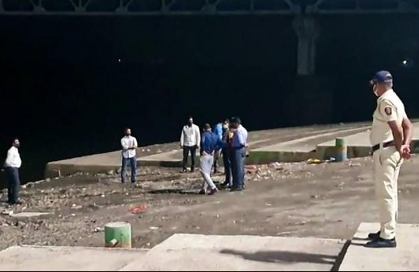 NIA officials take Sachin Waze to Thane creek where Mansukh Hiran's body was found