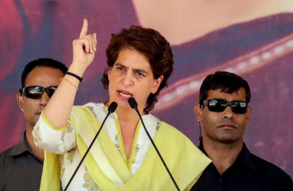 Priyanka Gandhi wows with 'Jhumur' moves, attacks Modi over 'Assam tea under attack' comment