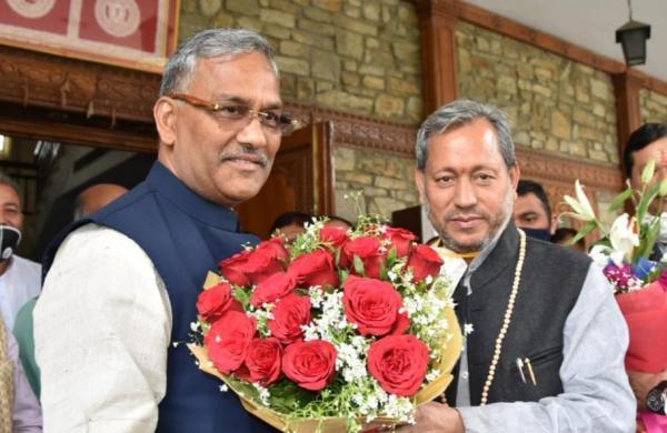 TSRvs TSR: War of words between former CM Trivendra and new CM Tirath in Uttarakhand