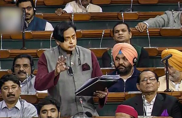 University campuses have no longer remained inclusive spaces: Shashi Tharoor in Lok Sabha