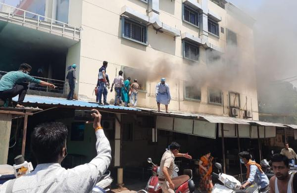 80, including 62 COVID patients, rescued from burning hospital in MP's Ujjain