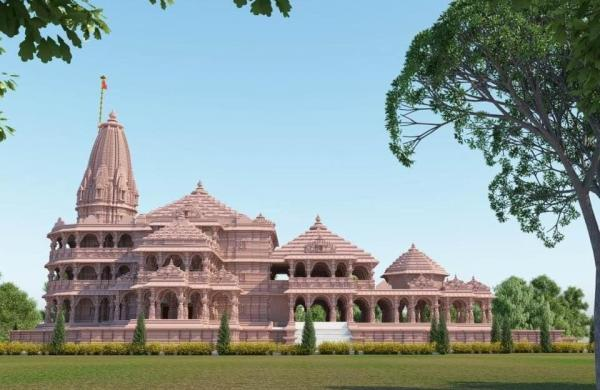 As filling work of Ram temple foundation begins, trust distributes holy soil to devotees
