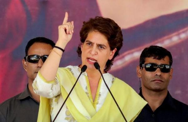 Assam polls: Congress leaderPriyanka Gandhi slams 'irresponsible' EC, BJP's negative politics