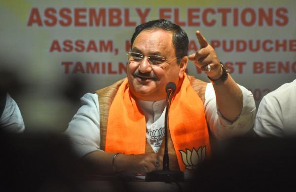 BJP crossed magic figure after sixth phase: JP Nadda